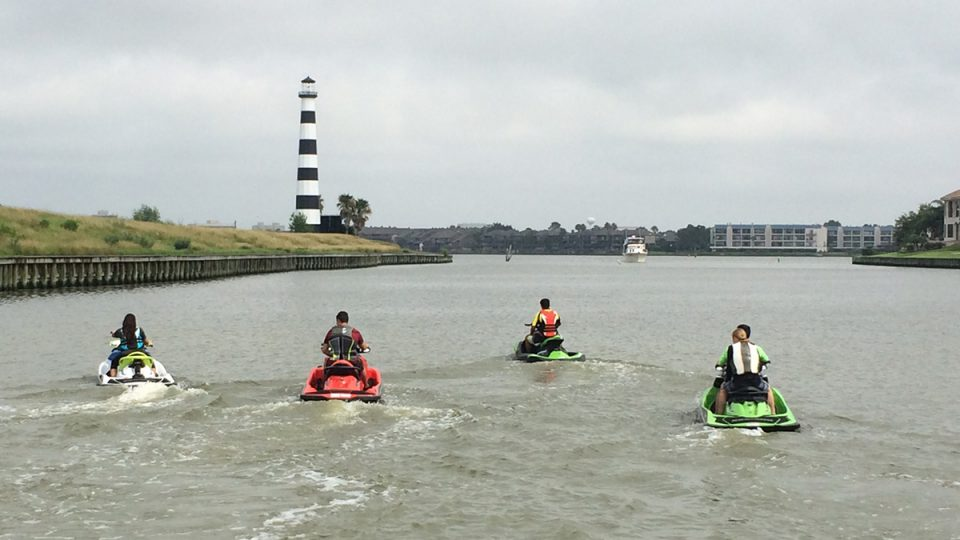 LOOK Marketing produced experiential marketing event in Houston, Texas for client BRP Sea-Doo