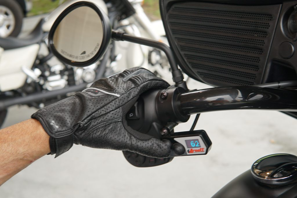 Motorcycle photography. Handlebar details.