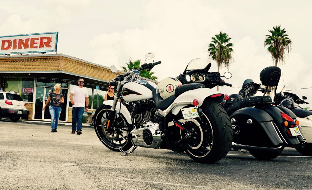 Commercial Photo Shoot for Arnott Motorcycle Air Suspension in Merritt Island, Florida