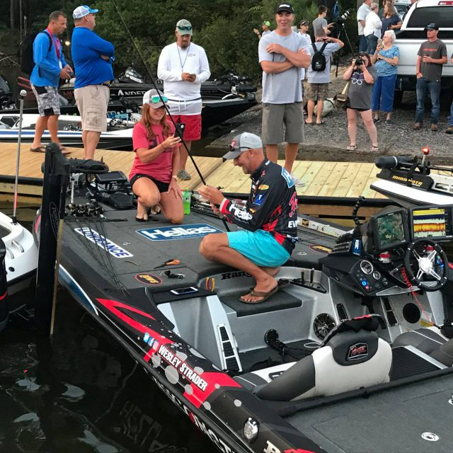 Wesley Strader Evinrude Forrest Cup Championship Fishing Tournament