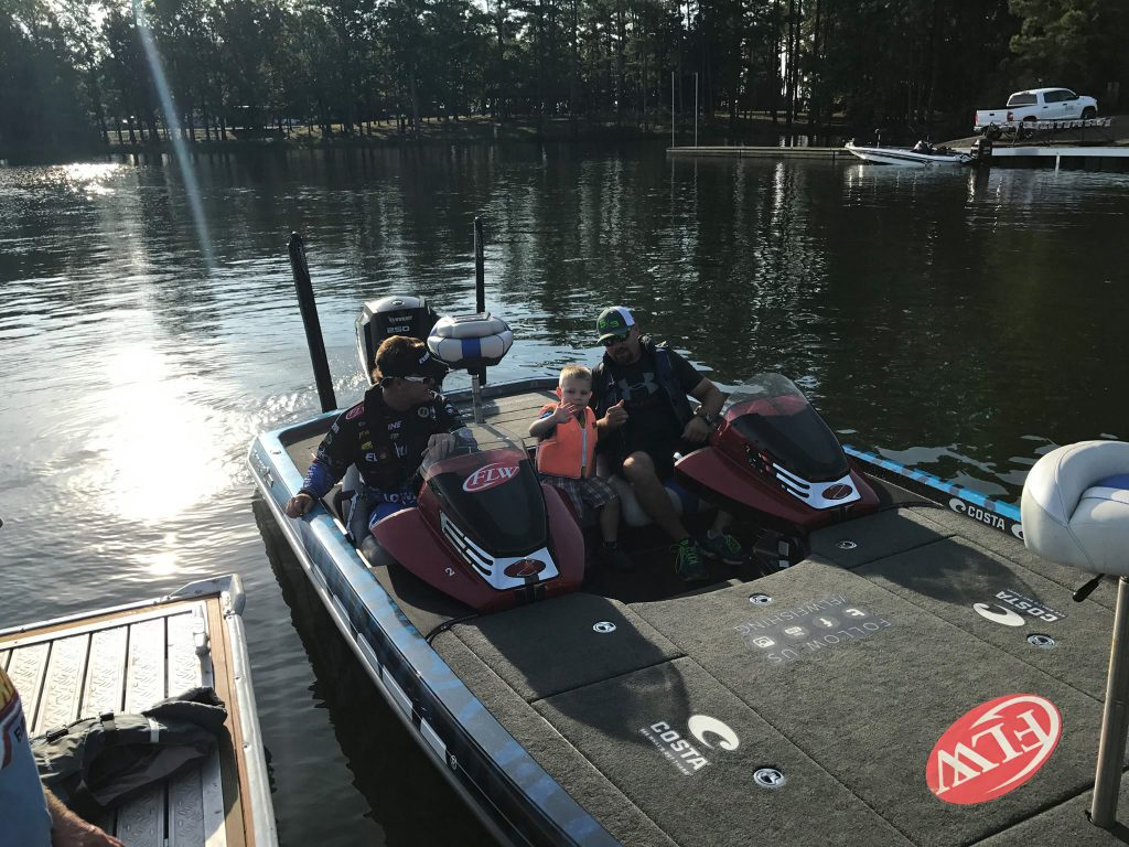 Evinrude test ride Lake Murray south carolina social media event coverage.