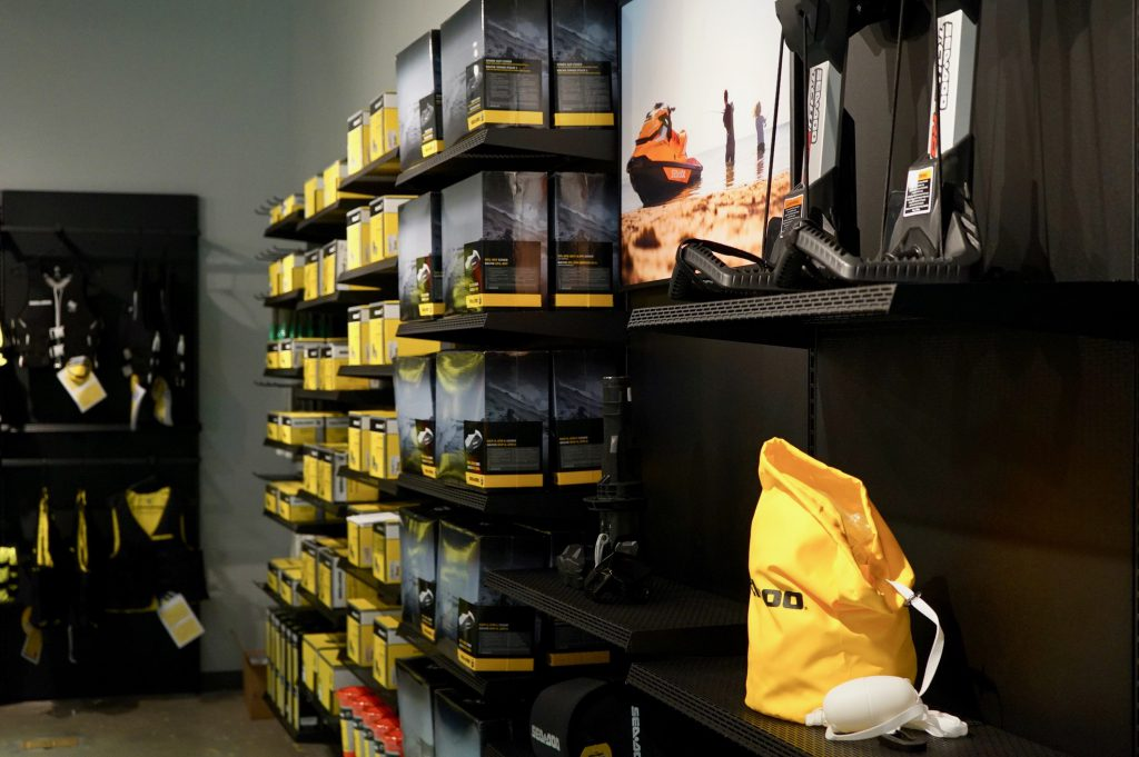Styled to sell. The science of merchandising design for powersports retailers.
