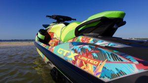 DJ Khaled custom Sea-Doo Graphic Design look marketing
