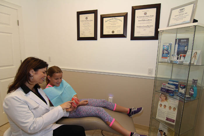 Dr. Valderrama patient consultation