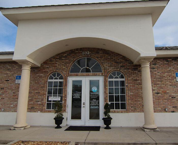 Valderrama Orthodontics front door