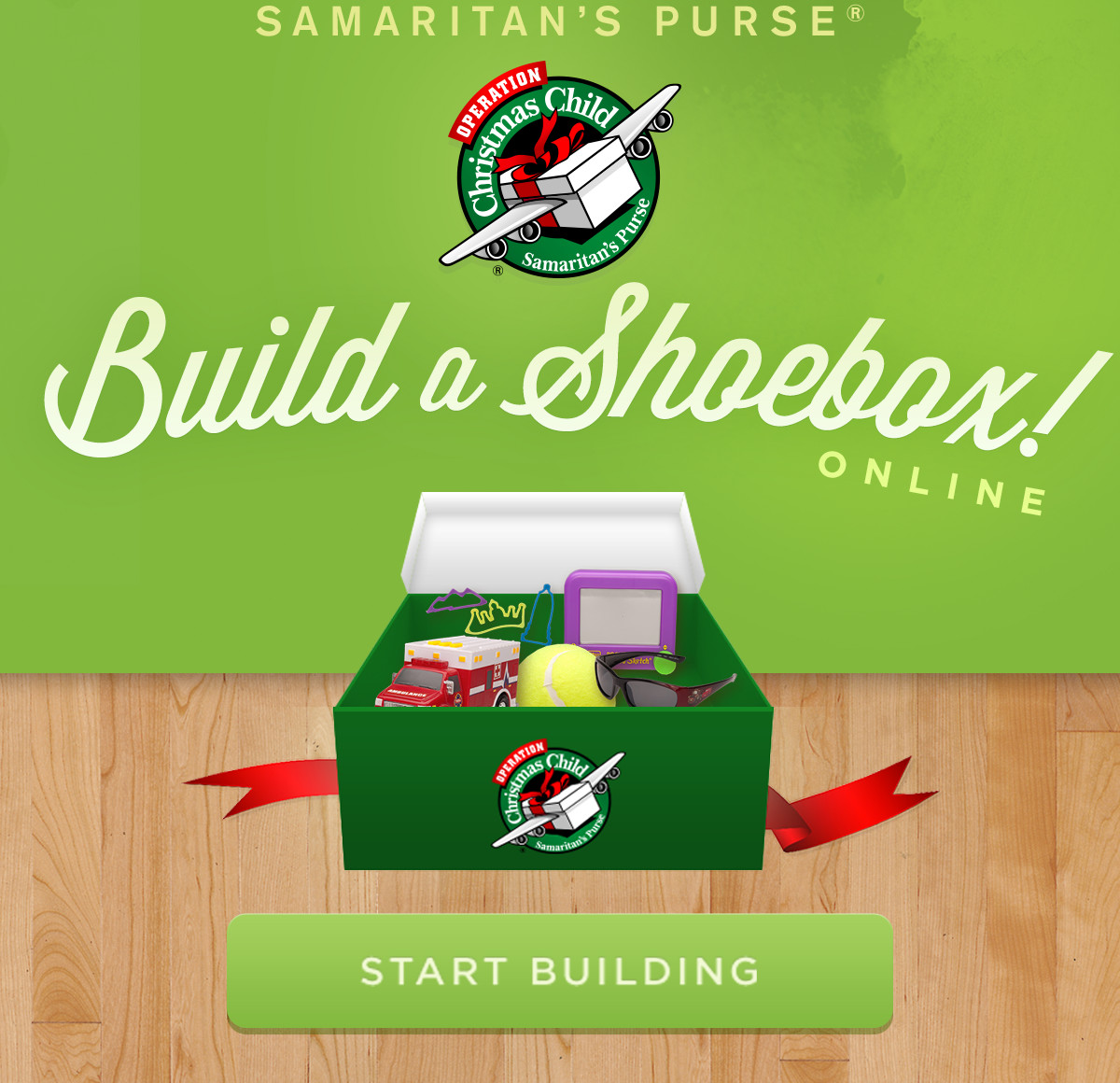 build your shoebox online