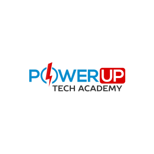 Powerup tech academy logo