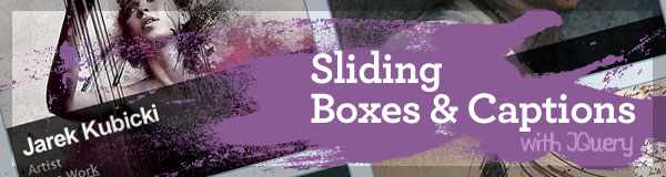 Sliding Boxes and Captions with jQuery