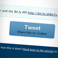 Share Feedback with Twitter and the Bit.ly API