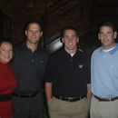 (left-right) Laura Beth Palmer, Jeff Hoffman, Hodge Patterson and Spencer Crane