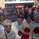 A few old timers with Hairy Dawg at the Dawg walk
