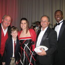 (left-right) Ed Williams, Luke Williams, Jenny Robbins, Cliff Robbins, Tavares King