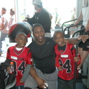(left-right) Kendric Miller, Knowshon Moreno and Kameron Mller