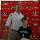 Mark Richt and Alex Rogers
