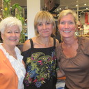 (left-right) Linda Rasch, Amy Smilovic and Jennifer Fitzgerald