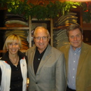 (left-right) Bonnie Gribble, Coach Vince Dooley and Bobby McClendon