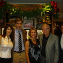 Dorsey Jennings, Steve Penley, Jackie Swiecichowski, Coach Vince Dooley and Kevin Rainwater