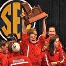 The 2010 SEC Champion Georgia Women's Swimming and Diving Team
