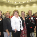 Mandy Marable, Shirley Branan Williamson, Susan Branan, Molly Burgess, Janet Burgess and Ashley Branan Sheffield