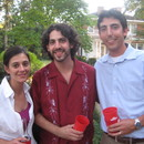 Becky Hammock, Philip Kohnen and Martin Kohnen