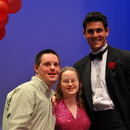 JC Edward, Hannah Baird and Aaron Murray