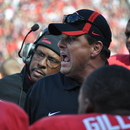 Todd Grantham. Georgia 19, Kentucky 10. November 19, 2011; Sanford Stadium, Athens, GA. (Photo: Scates/BI)