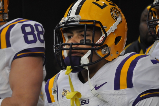 All-world LSU Cornerback Tyrann Mathieu. UGA 10, LSU 42 SEC Championship Game, Dec. 3, 2010, Georgia Dome, Atlanta. (Photo: Scates/BI)