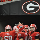 UGA 10, LSU 42 SEC Championship Game, Dec. 3, 2010, Georgia Dome, Atlanta. (Photo: Scates/BI)