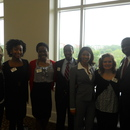 Ashley Hancock, Amanda Davis, Jayda Hazell, JR Releford, Michelle Blue, Emilee Mason and Kevin Brinson