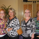 Baileigh Casper, Liz Coan, Karen Hill and Lynn Harbin