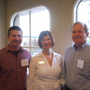 Phillip Sullivan, Amy Clark and Tom Lopp