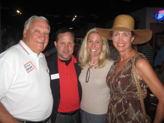 Sonny Seiler, Greg Daniel, Amy Repella and Donna Butler