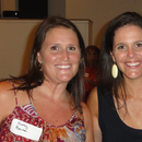 Kathy Benton and Sarah Bennett