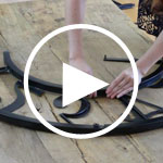 View Video Bulova Gallery Clock Assembly