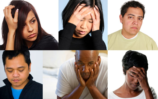are people with mental health problems Mental disorders are characterized by problems that people experience with their mind and their mood they are not well understood in terms of their causes, but the symptoms of mental illness are.