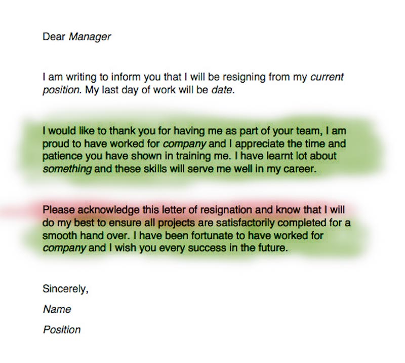 Bundlr - How to Write a Resignation Letter (with Free Samples)