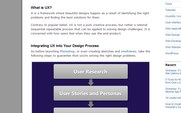 common user experience design topics for designers