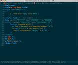 html dark