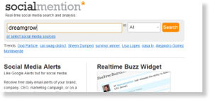 socialmention 54 Free Social Media Monitoring Tools [Update2012]