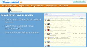 followerwonk 300x168 54 Free Social Media Monitoring Tools [Update2012]
