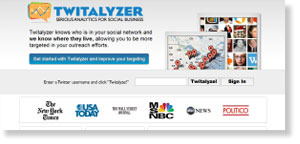 twitalyzer 54 Free Social Media Monitoring Tools [Update2012]