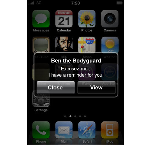 Ben the Bodyguard