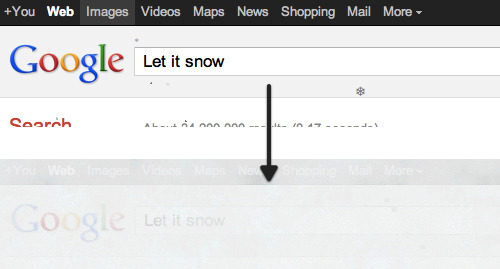 Let it Snow Google