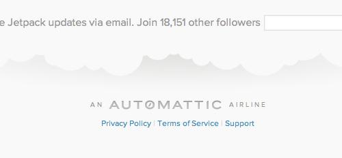 Automattic Airline