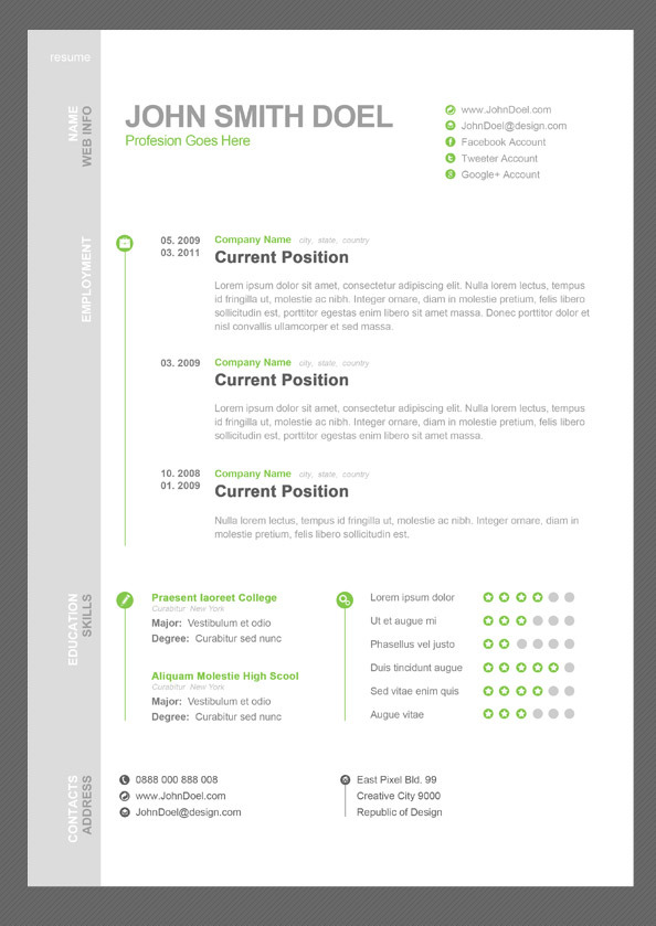 sleek resume template trendy resumes templates for excel microsoft high school resume template word - Resumes Templates For Word