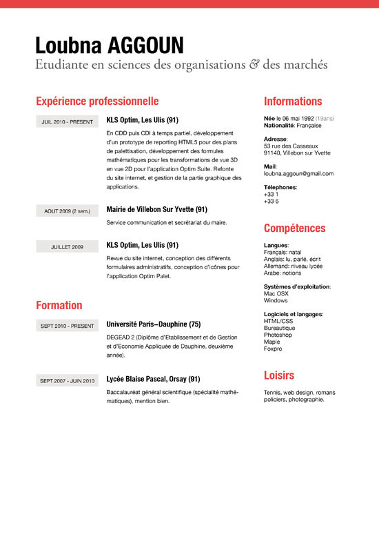 How to write good resume examples