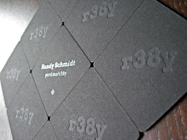 Letterpress Pupcard