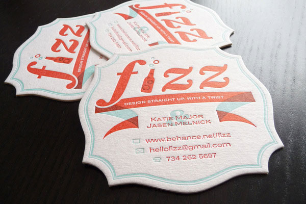 Fizz Business Coasters