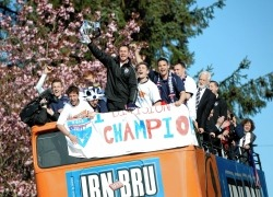 Ross County claimed four prizes at the Irn Bru SFL awards.