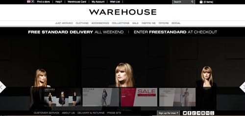 Warehouse Ecommerce Website